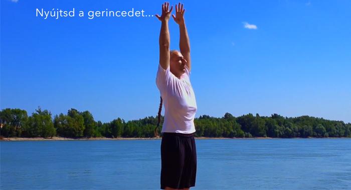 funkcionális jóga gyakorlat hátfájás ellen videó