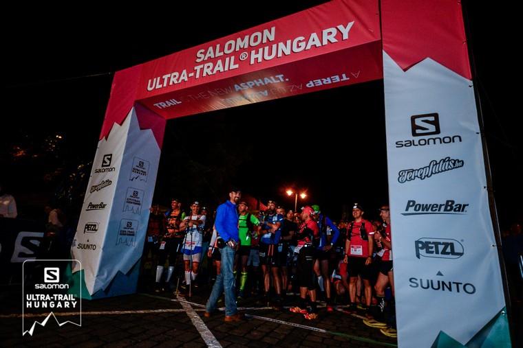 Ultra-Trail Hungary rajt Csányi László, Csanya terepfutó