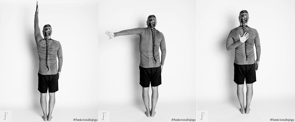 funkcionális jóga gyakorlat vállfájásra befagyott váll vállgyakorlat vállfájdalom k