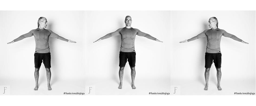 Egyperces nyaki gerincjóga gyakorlat banyapúp és nyakfájás ellen 3.