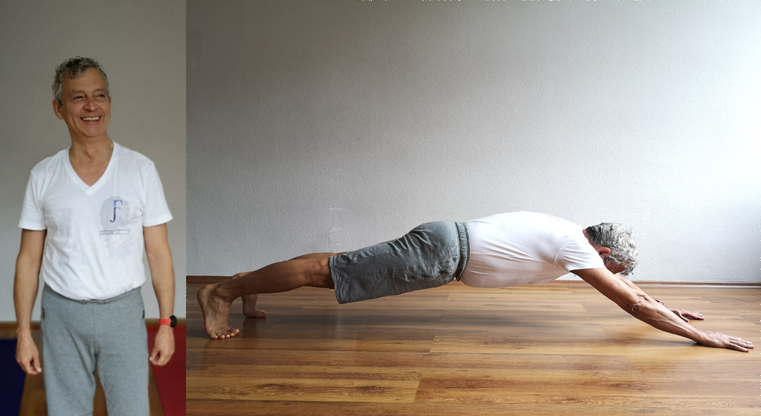 funkcionális jóga fekvőtámasz