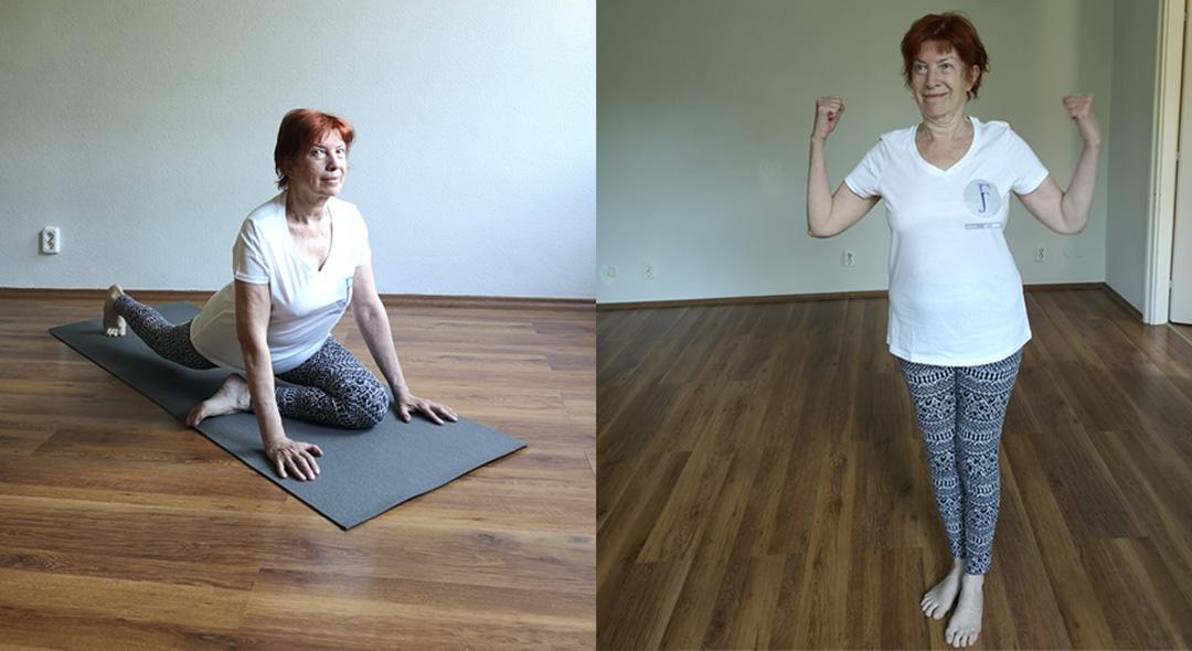 ernst éva funkcionális jóga egylábas királygalamb