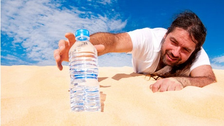 Derékfájás okai - kevés víz okozta kiszáradás (dehidratáció)