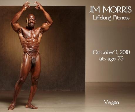 Jim Morris vegán testépítő 75 évesen