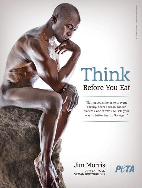 Jim Morris vegán testépítő: Gondolkodj, mielőtt eszel!